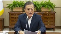 韓国メディアには文在寅政権に批判的な論調も多い(写真は青瓦台の動画から)