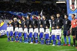 11月シリーズは1勝1敗。計32人を招集した。写真:茂木あきら(サッカーダイジェスト写真部)