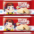 約束された味 ミルキーのアイス