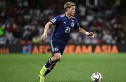 アジアカップでは日本代表の不可欠な推進力として存在感を発揮している堂安。決勝でも活躍が期待される。 写真:茂木あきら(サッカーダイジェスト写真部)