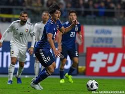 シュート1本で無得点に終わった日本代表MF南野拓実
