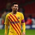 スペイン1部リーグ、FCバルセロナのリオネル・メッシ(2020年11月21日撮影、資料写真)。(c)GABRIEL BOUYS / AFP