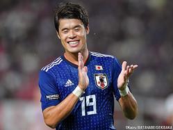 2点目をアシストした日本代表DF酒井宏樹(マルセイユ)