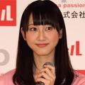 松井玲奈さん(14年5月撮影)