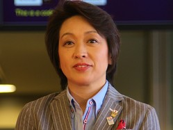 ロンドン五輪では日本選手団の副団長を務めた(12年7月撮影)