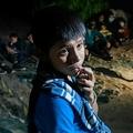 単身でグアテマラを出発、メキシコからリオグランデ川を渡り、米テキサス州にやって来た12歳のオスカル君(2021年3月27日撮影)。(c)Ed JONES / AFP