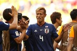 W杯8試合で3得点・3アシストをマークしている本田。日本代表のなかでは突出した数値だ。(C)Getty Images