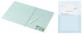 コクヨ、すべて紙製のフラットファイルと窓付きペーパーホルダーを発売