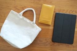 布も革もOKのデザインシールで簡単アレンジ!シンプル小物に遊び心をプラスしようよ | マイ定番スタイル