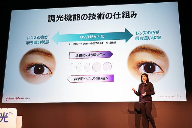 世界初、調光コンタクトレンズが日本へ。アキュビューから12月12日発売