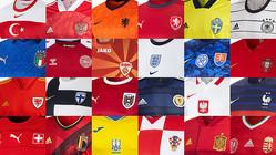 EURO2020、出場全24チームの「ユニフォームまとめ」