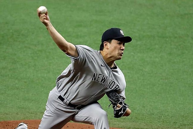 [画像] 【MLB】田中将大、5回0封をNY紙絶賛 13人連続凡退に「まるで10月バージョンの投球」