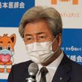 菅首相に緊急事態宣言の拡大を直談判した中川敏男日本医師会会長