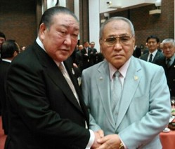 田中理事長との2ショット