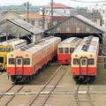 小湊鉄道は古い車両ばかりを使用しているが、その古さがファンの心を掴む