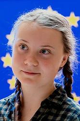 グレタ・トゥーンベリさん(European Parliament/Wikimedia Commons)