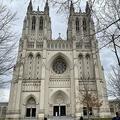 米首都ワシントンのワシントン大聖堂(2020年3月15日撮影)。(c)Daniel SLIM / AFP)