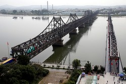中国の北朝鮮向け輸出、3月は6カ月ぶり高水準 国境封鎖解除の兆し