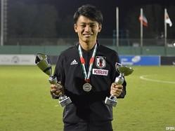 U-21日本代表FW上田綺世(法政大)
