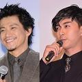 左が小栗旬、右が松田翔太(2016年に撮影)