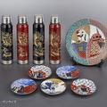 ガンダムと伝統芸能コラボ 九谷焼の豆皿や越前漆器のサーモマグなど登場