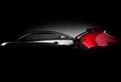 ロサンゼルス自動車ショーで世界初公開される「Mazda3」