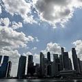 シンガポールの金融街(2018年2月12日撮影、資料写真)。(c)Roslan RAHMAN / AFP