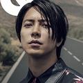 『GQ JAPAN』2019年11月号に登場する山下智久