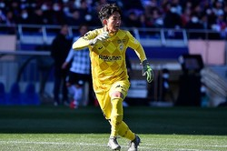 昨季は横浜で5試合、神戸で12試合出場した飯倉大樹。(C)SOCCER DIGEST