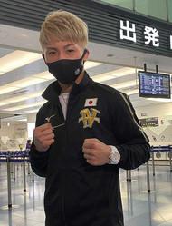 ラスベガスデビュー戦に向けて渡米した井上尚弥