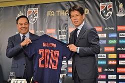 タイ代表・西野朗監督が就任会見で意気込み…「日本と闘えるようなレベルアップを」
