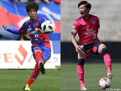 U-21日本代表に初選出されたFC東京DF岡崎慎とセレッソ大阪MF舩木翔