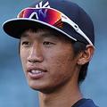 2013年、ヤンキースからドラフト2位で指名された加藤豪将【写真:Getty Images】