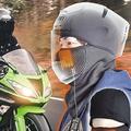 冬のバイク乗りにオススメ 洗えるヒーター内蔵のフェイスマスク