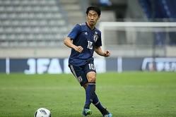 1ゴール2アシストを記録した香川。チームの攻撃を牽引した。写真:滝川敏之(サッカーダイジェスト写真部)