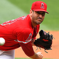 ANAHEIM, CA - MAY 23: Matt Harvey #33 of the Los Angeles Angels of Anaheim pitches in the first inning of the gameagainst the Minnesota Twins at Angel Stadium of Anaheim on May 23, 2019 in Anaheim, California. (Photo by Jayne Kamin-Oncea/Getty Images)