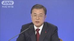 徴用工問題「日本も解決策を示すべき」文在寅大統領
