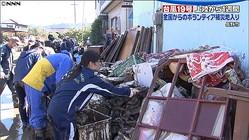 ボランティア1390人も「足りない」長野