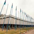 コンゴ民主共和国の首都キンシャサにある外務省本庁舎(2014年8月27日撮影)。(c)Junior D. Kannah / AFP