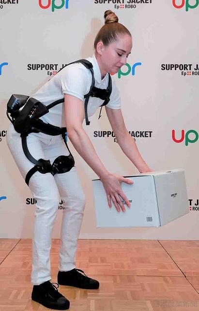 [画像] 業界初のレンタル導入 アシストスーツ来月発売 ユーピーアール