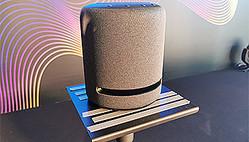 12月5日に発売する「Amazon Echo Studio」。価格は税込2万4980円