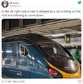 ロンドン市内の駅で電車を運休させた意外な犯人「乗車券持ってるんだよね」