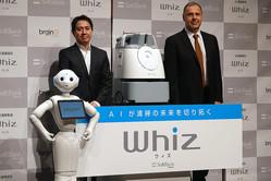 ソフトバンクがAI清掃ロボット「Whiz」で具現化する日本の近未来ロボット戦略とは