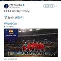 「FIFA World Cup」公式Twitterのスクリーンショット