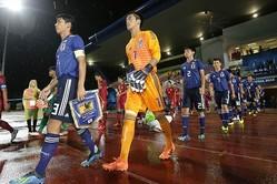 U−16日本代表は、世界への切符を懸けた準々決勝でオマーンと対戦する。写真:佐藤博之