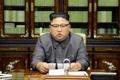 北朝鮮の金正恩(キム・ジョンウン)朝鮮労働党委員長が21日、北朝鮮に対し「完全に破壊するしかなくなる」と警告したトランプ米大統領の国連演説を強く非難する異例の声明を発表した。国連安全保障理事会の制裁決議や韓米合同軍事演習などに反発し、北朝鮮が軍や主要機関の名義で声明を発表することはたびたびあったが、毎年の「新年の辞」以外で金委員長が自らの名義で対外声明を出したのは初めてだ。声明を読み上げる金委員長=22日、ソウル(朝鮮中央通信=聯合ニュース) (END)