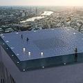 ビル屋上にインフィニティプールが登場予定 ロンドンの55階建て