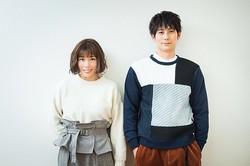 「ホリデイラブ」に出演中の(写真左から)仲里依紗、平岡祐太/撮影=奥西淳二