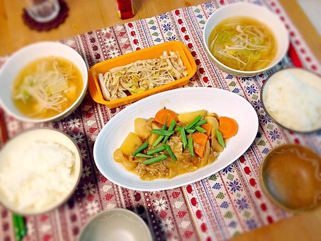 スープ 白菜 えのき