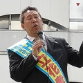 立花氏は昨年の参院選では当選している